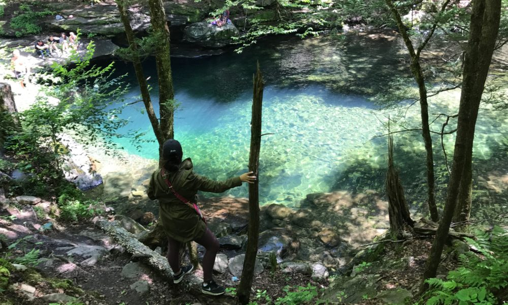 Blue hole in Ellenville. – Simply Old-Fashioned